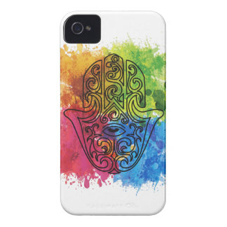 Wellcoda Vibrant Indian Symbol Asian Life iPhone 4 Cover