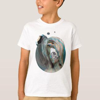 Wellcoda Virgin Mary Sculpture Holy Head T-Shirt