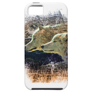 Wellcoda Wild Nature Wolf Pack Lone Grey Case For The iPhone 5