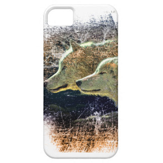 Wellcoda Wild Nature Wolf Pack Lone Grey iPhone 5 Cases