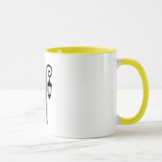 Wellesley College Lamppost Mug - Yellow Class