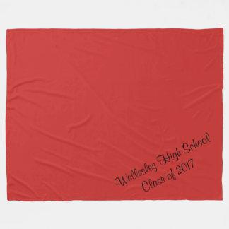 Wellesley High School Class of 2017 Blanket