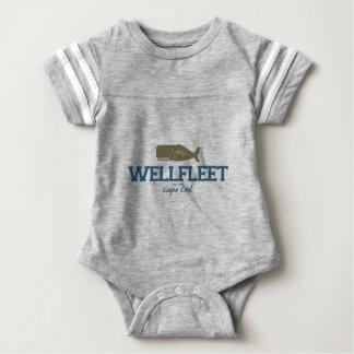 Wellfleet - Cape Cod. Baby Bodysuit