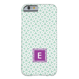 Wellfleet Pattern - Mint Barely There iPhone 6 Case