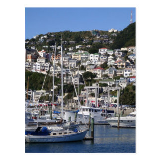 Wellington Harbour Postcard