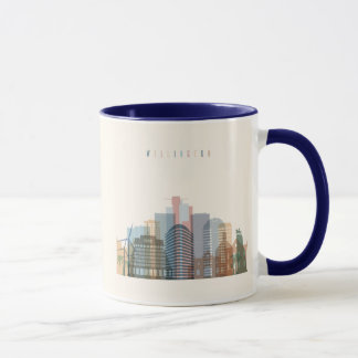 Wellington, New Zealand | City Skyline Mug