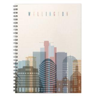 Wellington, New Zealand | City Skyline Notebook
