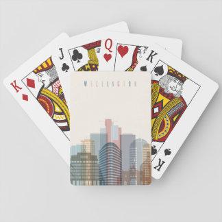 Wellington, New Zealand | City Skyline Playing Cards