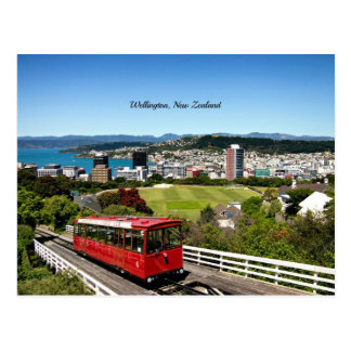 Wellington, New Zealand Postcard