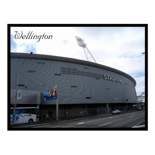 wellington regional stadium postcard