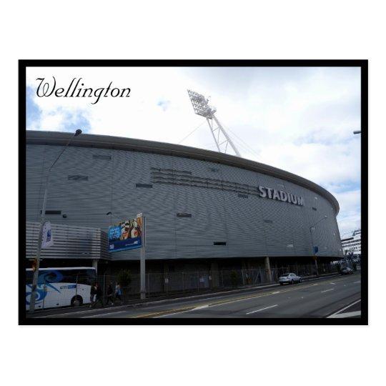 wellington regional stadium postcard
