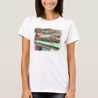 Wellinton cable car tshirt