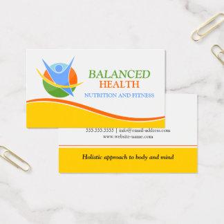 Wellness Coach Business Card