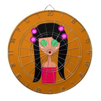 Wellness ethno goodness dartboard