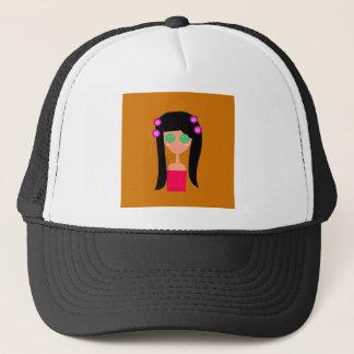 Wellness ethno goodness trucker hat