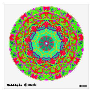 Wellness Green Mandala Wall Decal