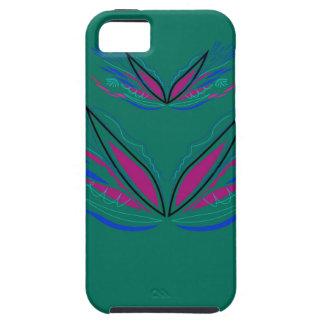 Wellness mandala Green eco Case For The iPhone 5