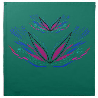 Wellness mandala Green eco Napkin