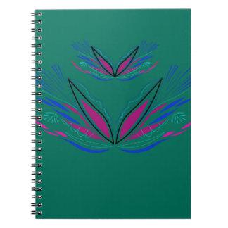 Wellness mandala Green eco Notebooks