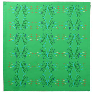 Wellness mandalas Green eco Napkin