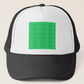 Wellness mandalas Green eco Trucker Hat