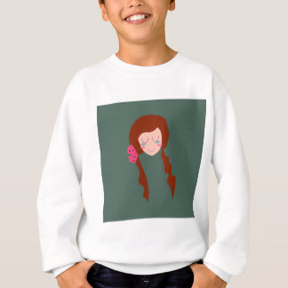 WELLNESS WOMAN Long hair Eco green Sweatshirt