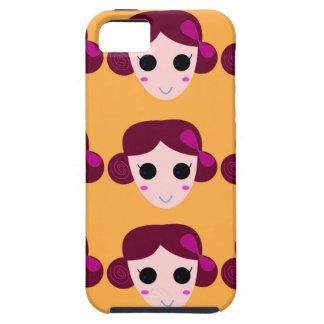 Wellness women on gold iPhone 5 case