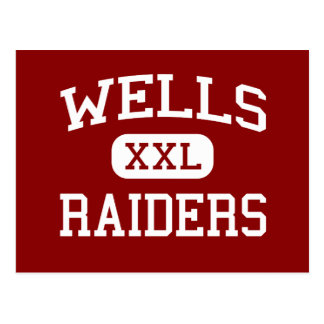 Wells - Raiders - Junior High School - Wells Maine Postcard