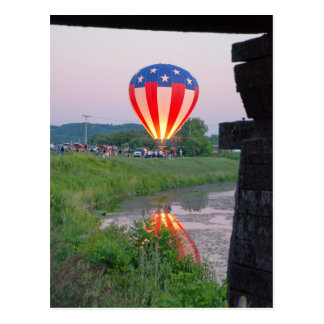 Wellsville Balloon Rally 2 Postcard