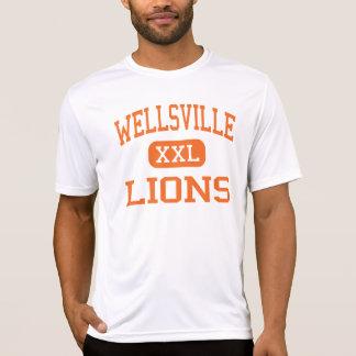 Wellsville - Lions - High - Wellsville New York T-Shirt