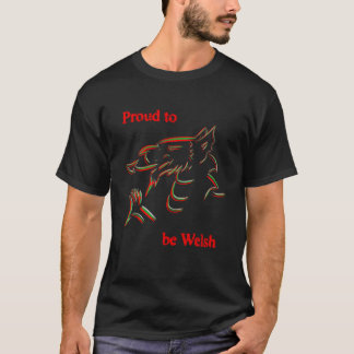 Welsh and Proud T-Shirt