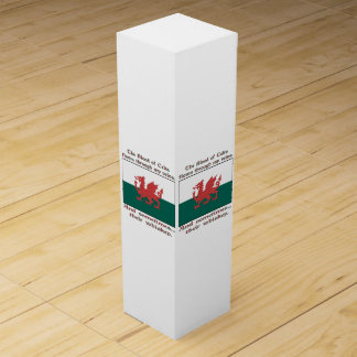 Welsh Blood and Whiskey Wine Box