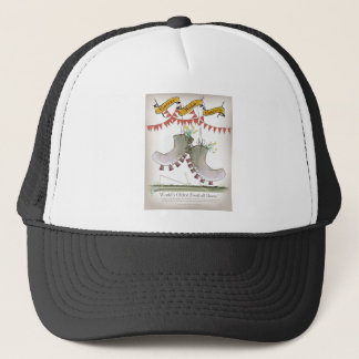 welsh boots trucker hat