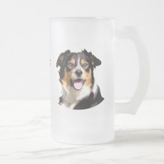 Welsh Border Collie Beer Mug