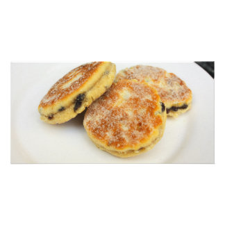 welsh cakes customized photo card