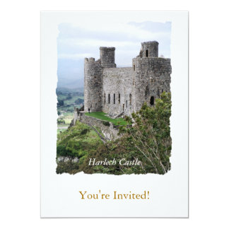 WELSH CASTLES CARD