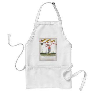 welsh centre forward standard apron