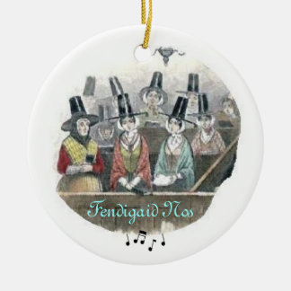 Welsh Choir Ornament