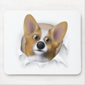 Welsh Corgi 1 Busting Out Mouse Pad