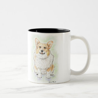 "Welsh Corgi ""Bizzie"" Coffee Mug"