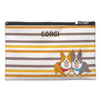 welsh corgi border travel accessory bag