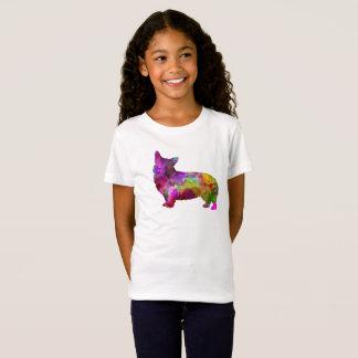 Welsh Corgi Cardigan in watercolor T-Shirt