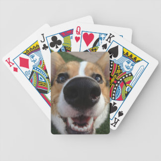 Welsh Corgi Dog Nose Collection Bicycle Playing Cards