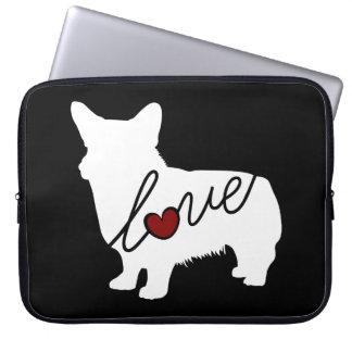 Welsh Corgi Love Laptop Sleeve