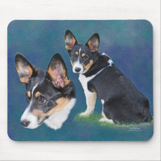 Welsh Corgi Mouse Pad