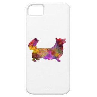 Welsh Corgi Pembroke in watercolor iPhone 5 Cases