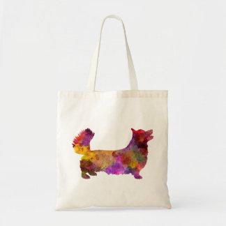 Welsh Corgi Pembroke in watercolor Tote Bag