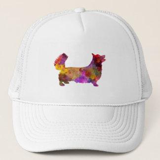 Welsh Corgi Pembroke in watercolor Trucker Hat
