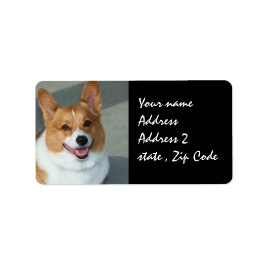 Welsh Corgi Shipping Labels