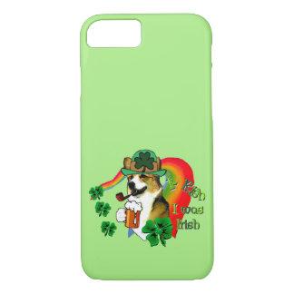 Welsh Corgi St Patricks Day iPhone 8/7 Case